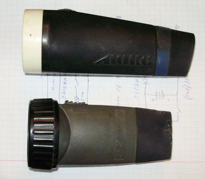 Аналогичные по схеме вышеупомянутым фонарикам современные модели КОСМОС 528-8 и ФО-Дик Дик-02 и АН-0-005С ДиК-5...